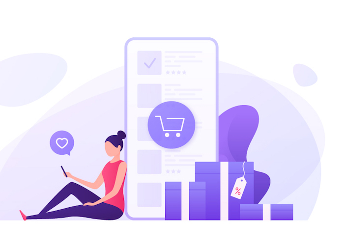 Illustration social commerce